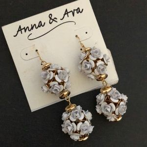 Rose Earrings Anna & Ava